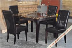 WINSOR BUTTON DINING SETS(1+4)